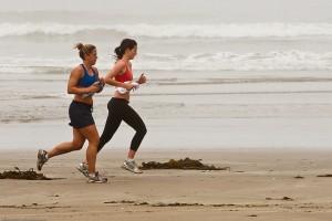 Correr en playa